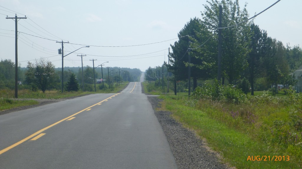 Quiet road along rte 134