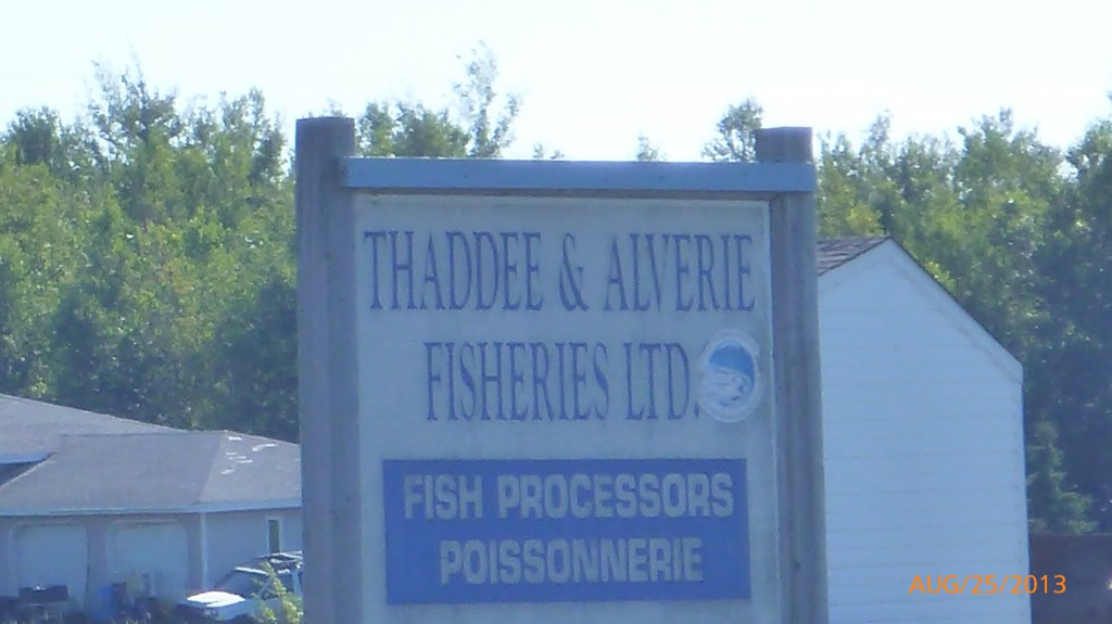 Passed by lots of small fisheries today
