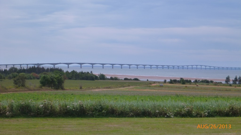 The Confederation Bridge to PEI