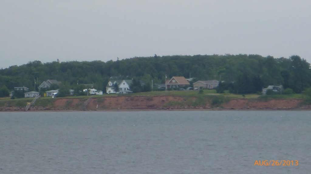 A view of PEI's red sand