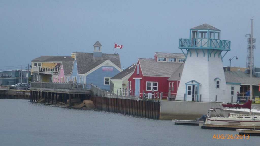 The wharf in Summerside