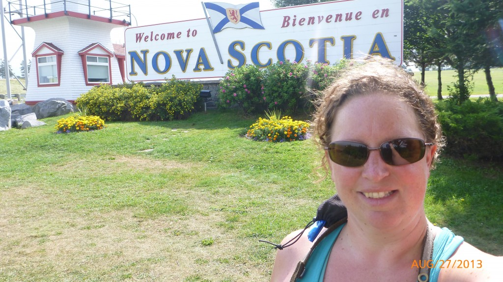 Nova Scotia!  Again!