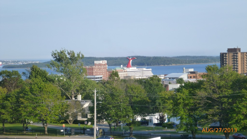 Halifax harbour from the Citadel