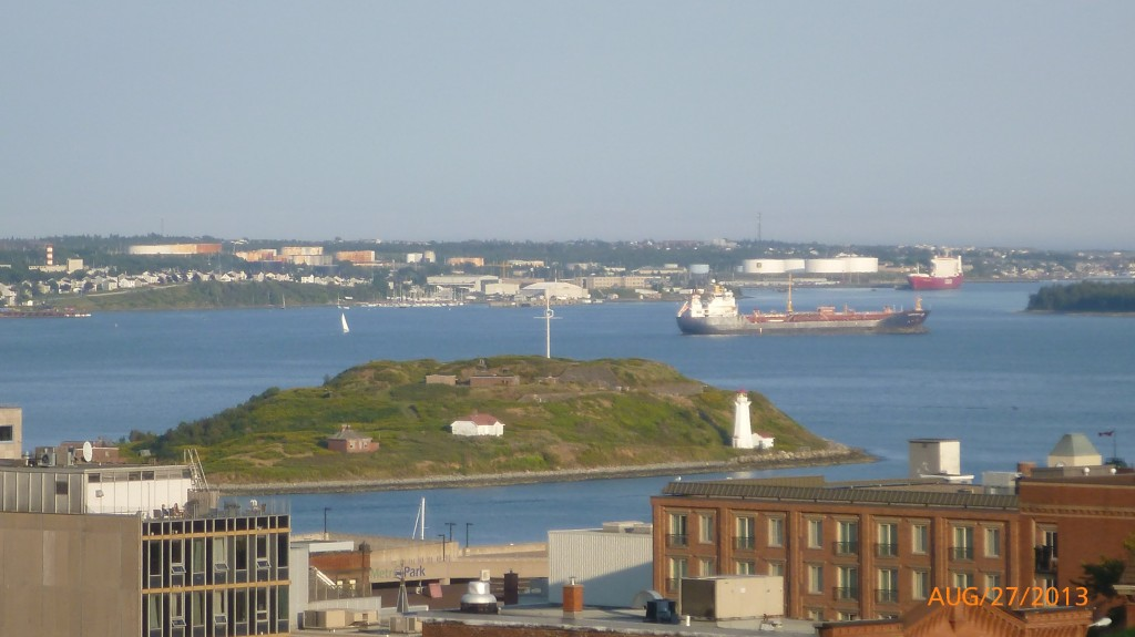 An island in Halifax harbour