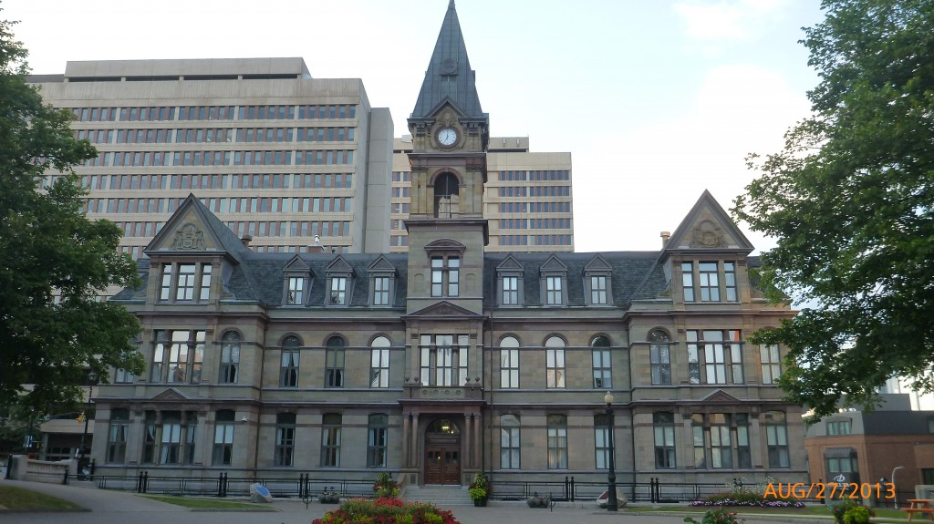 City Hall.  This is where Dalhousie University used to be