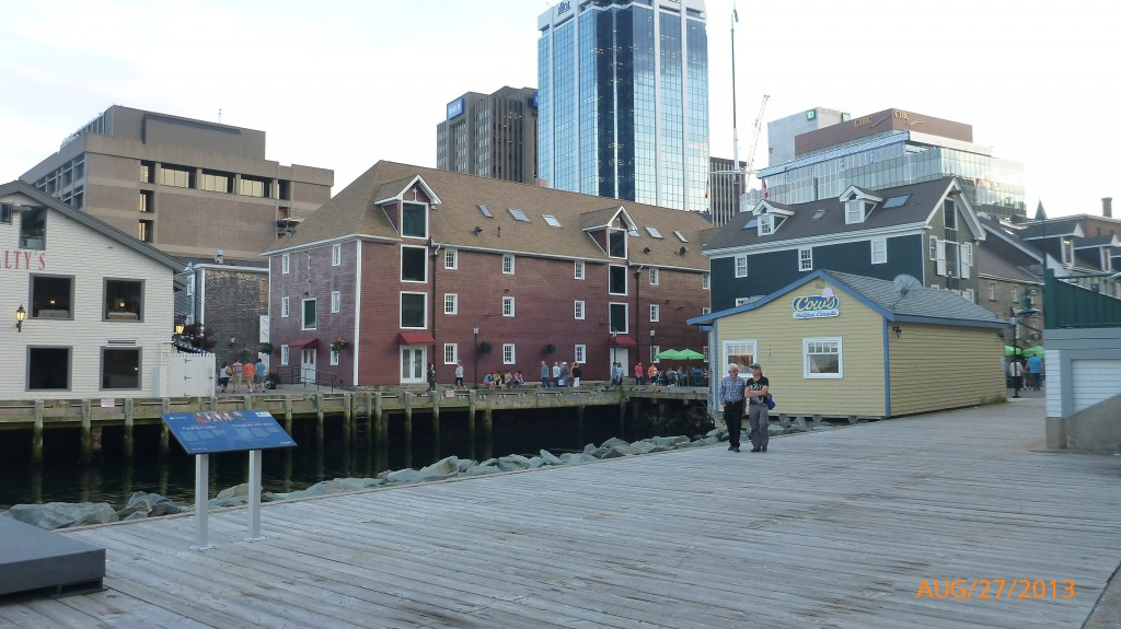 Along the Halifax Wharf