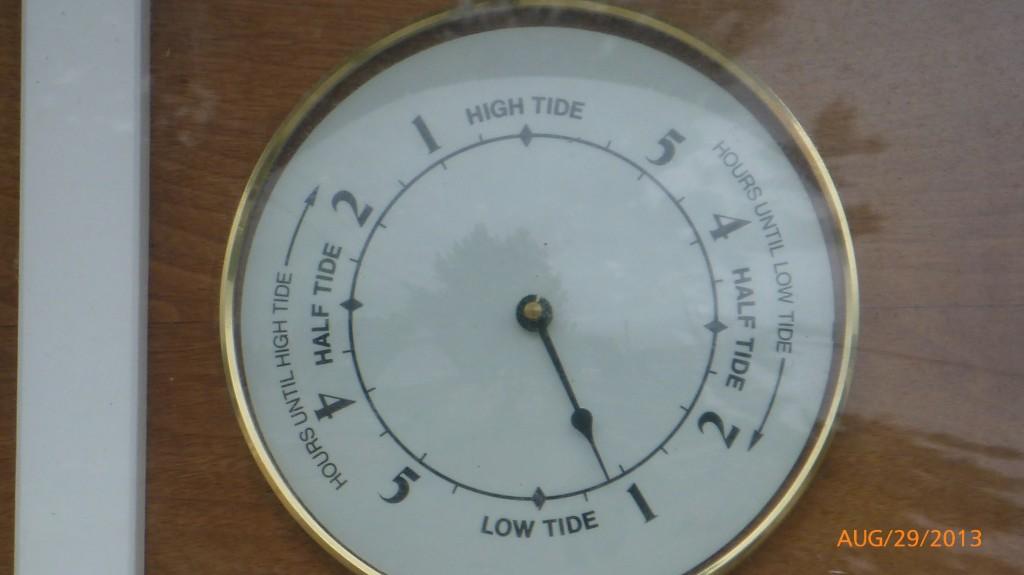A tide clock