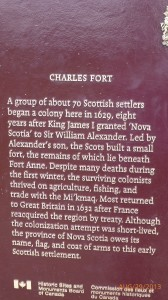 Some history of the Fort