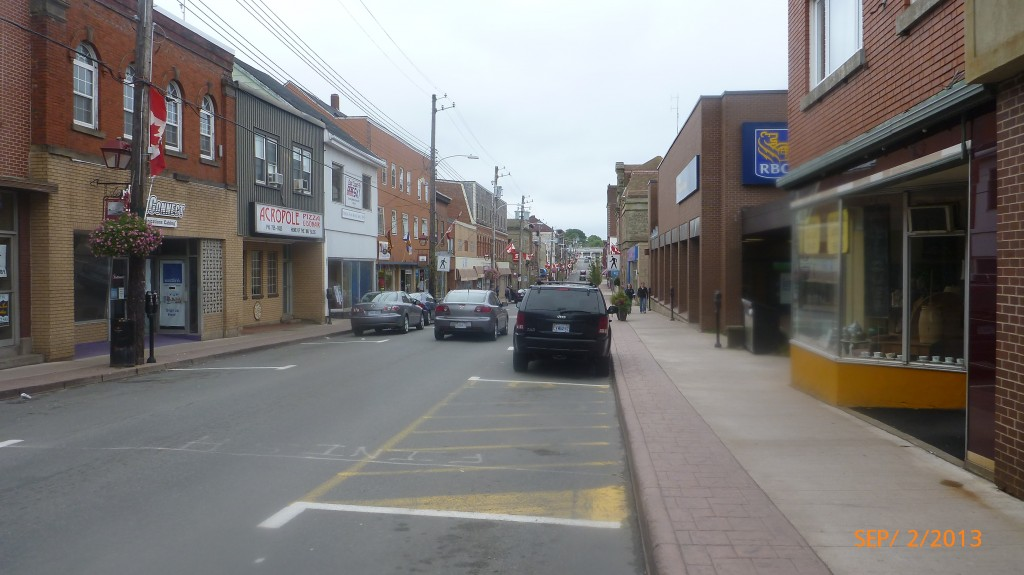 Downtown New Glasgow