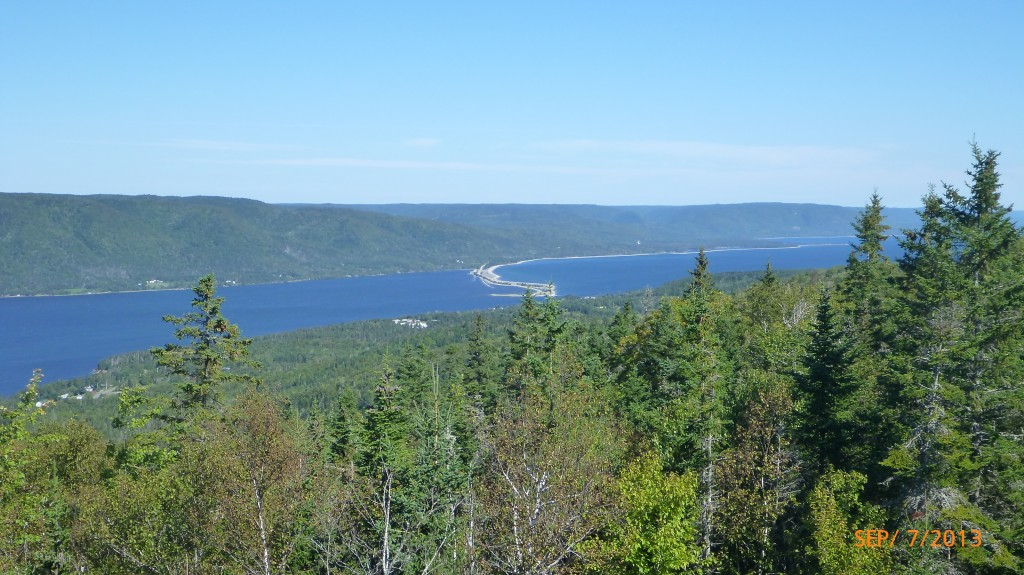 My first view of the Cabot Trail