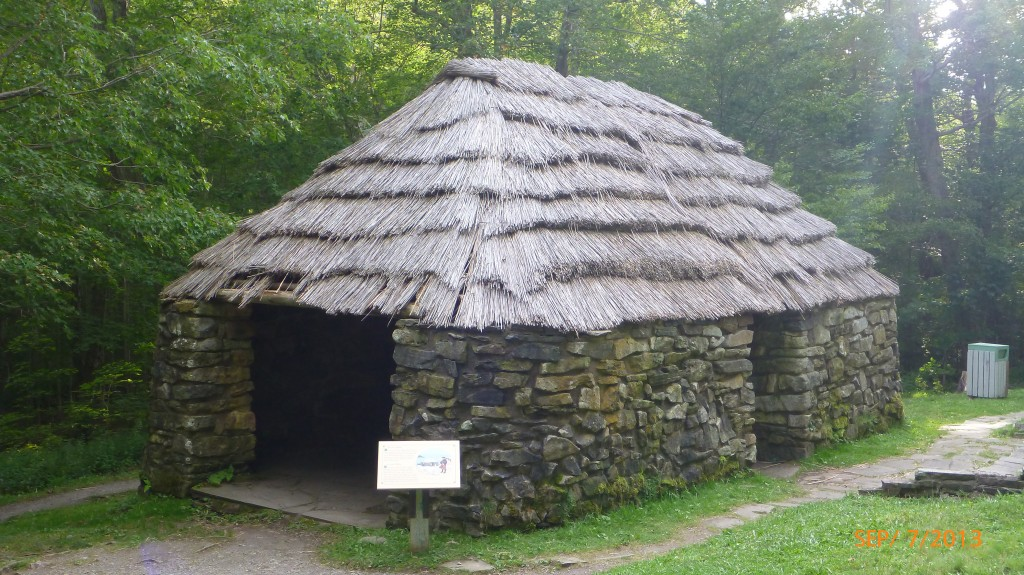 A shieling - would provide shelter for scottish farmers and often some of their livestock