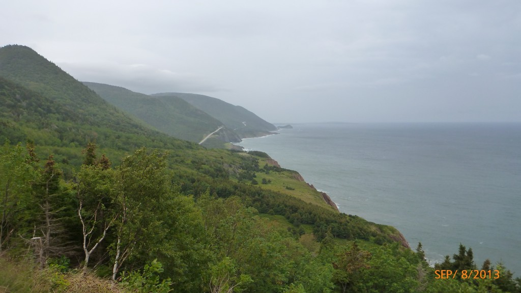 West side of the Cabot Trail (between Pleasant Bay and Cheticamp)