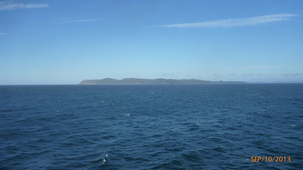 My first glimpse of Newfoundland from the ferry