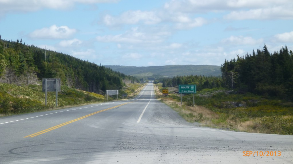 Continuing along route 100