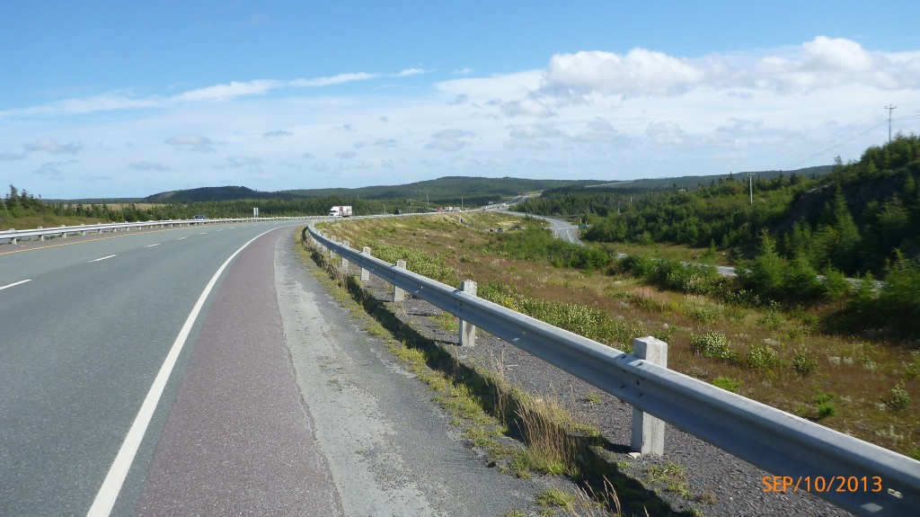 Along TransCanada Hwy 1 - I wasn't done with the hills for the day