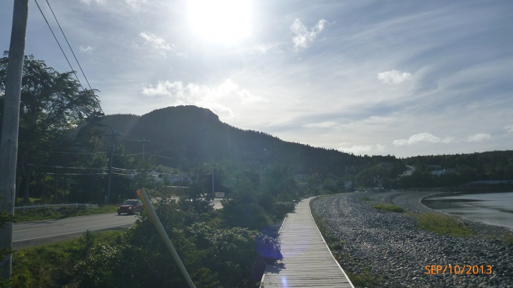 Boardwalk in Holyrood