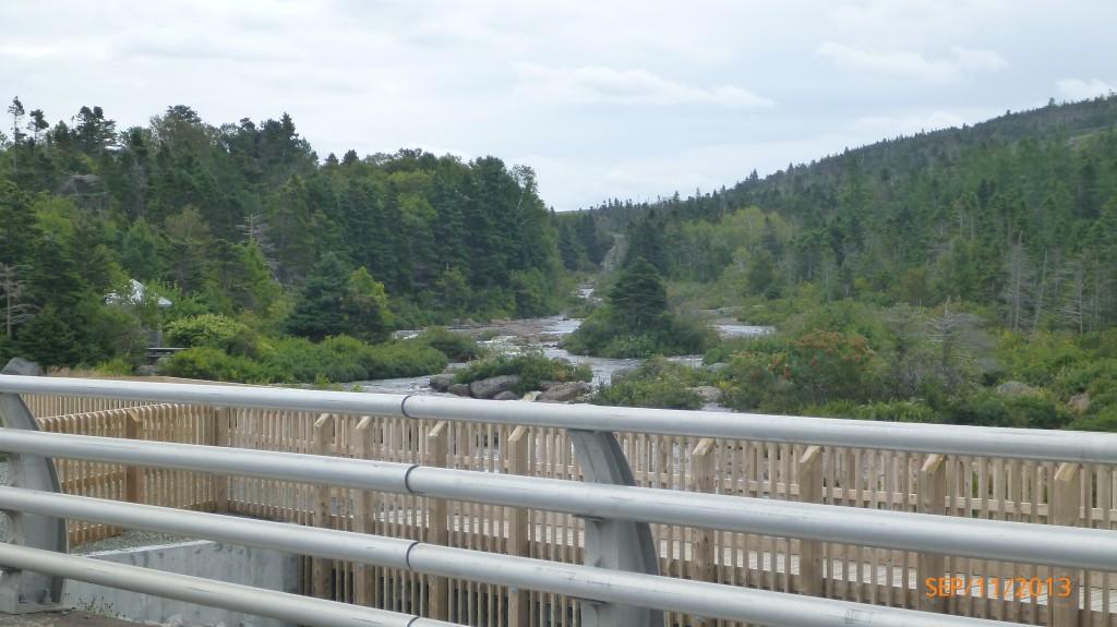 A creek along the way