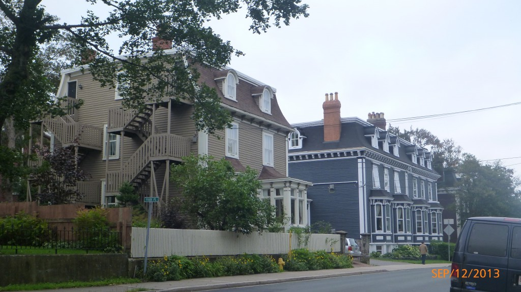 Rennie's Mill Road Historic District - some of the more prominent houses built after the fire of 1846