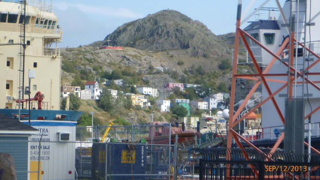 Signal hill in St. John's