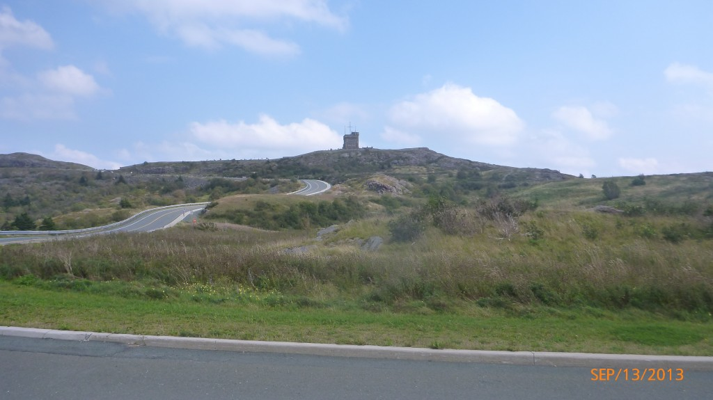 The castle on signal hill