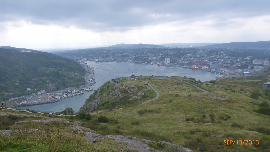 Another pic of St. John's harbour