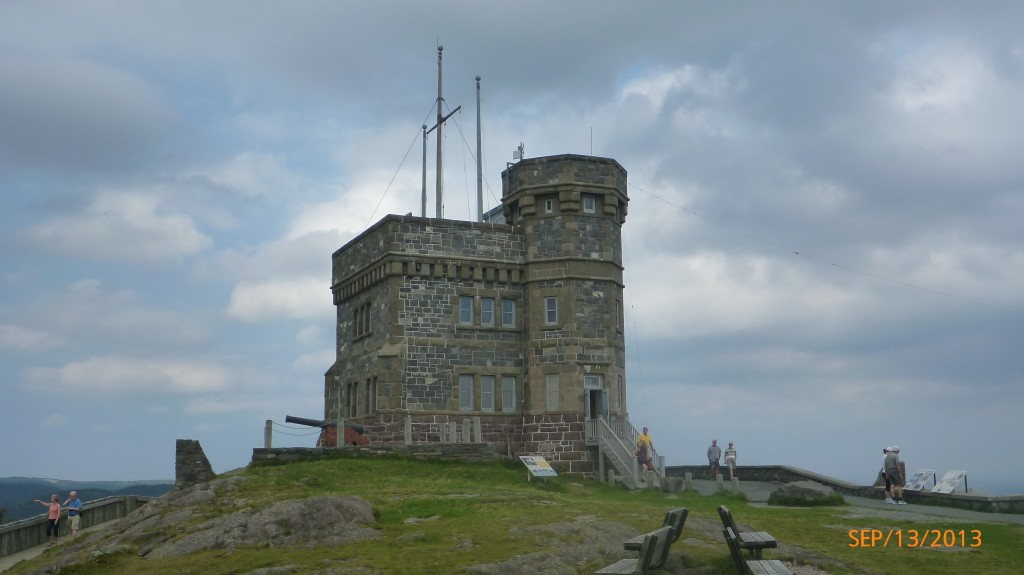 Castle on signal hill - no longer a spec!