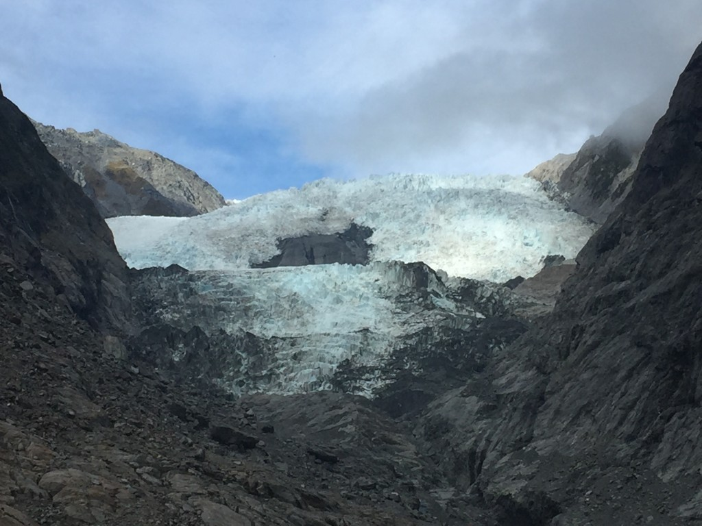 And a closeup of Franz Josef Glacier