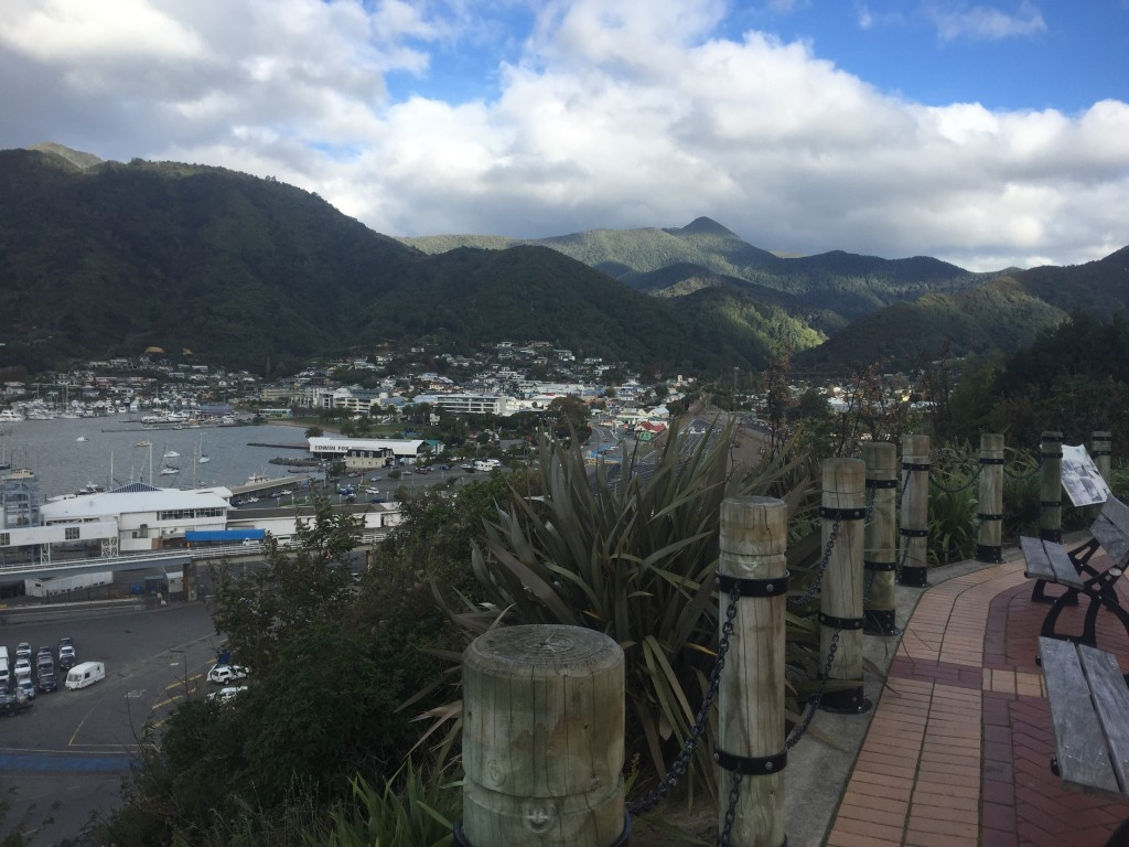 Overlooking Picton from Queen Charlotte Drive