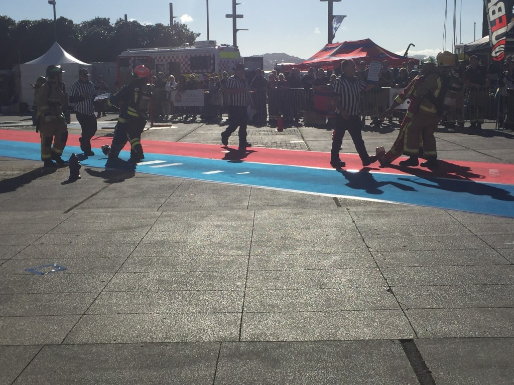 Part of the firefighter combat challenge