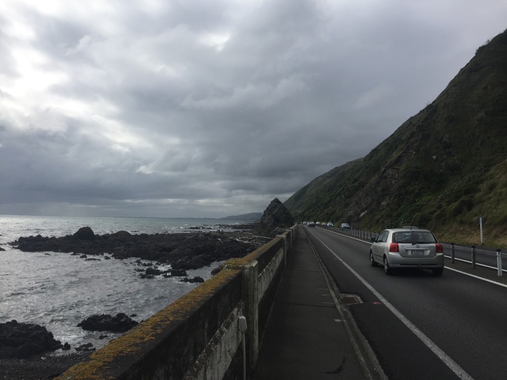 Part of today's ride went along the coast