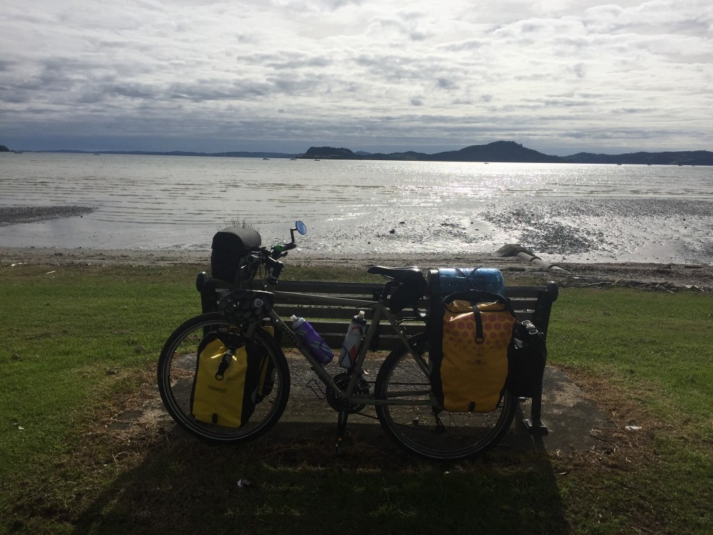A perfect resting spot for my bike and I
