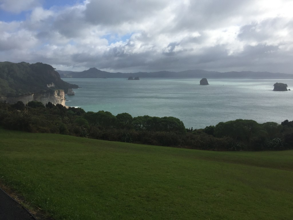 Hiking to Cathedral Cove
