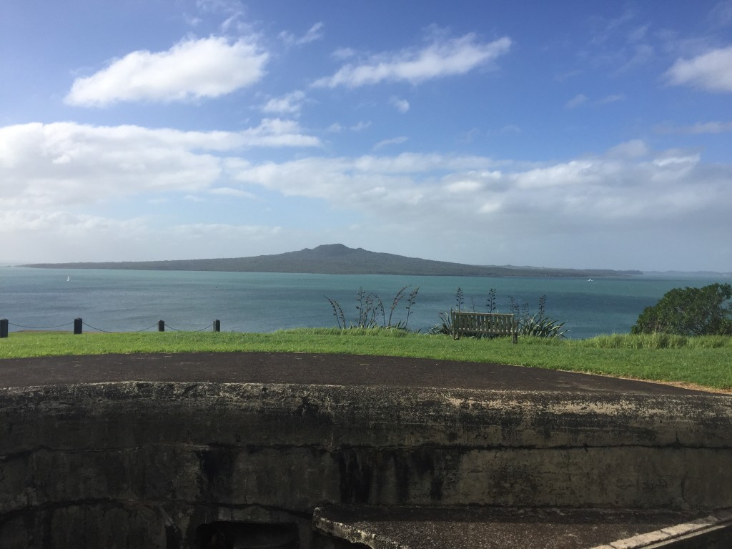 View of Rangitoto Island from North Head
