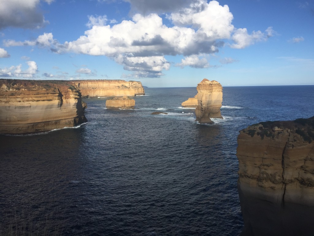 Lookout at Loch Ard Gorge