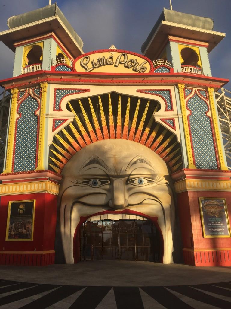 Amusement park in St. Kilda
