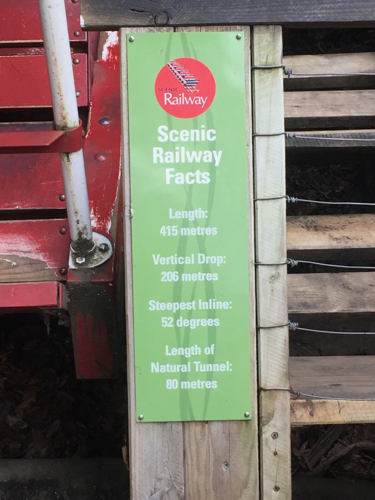 The coolest ride at Scenic World - the Scenic Railway