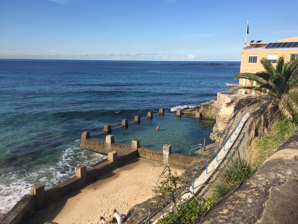 A 'natural pool' at Coogee Beach