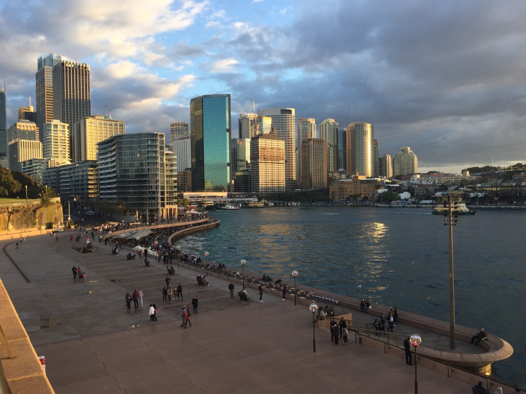 Circular Quay and the city