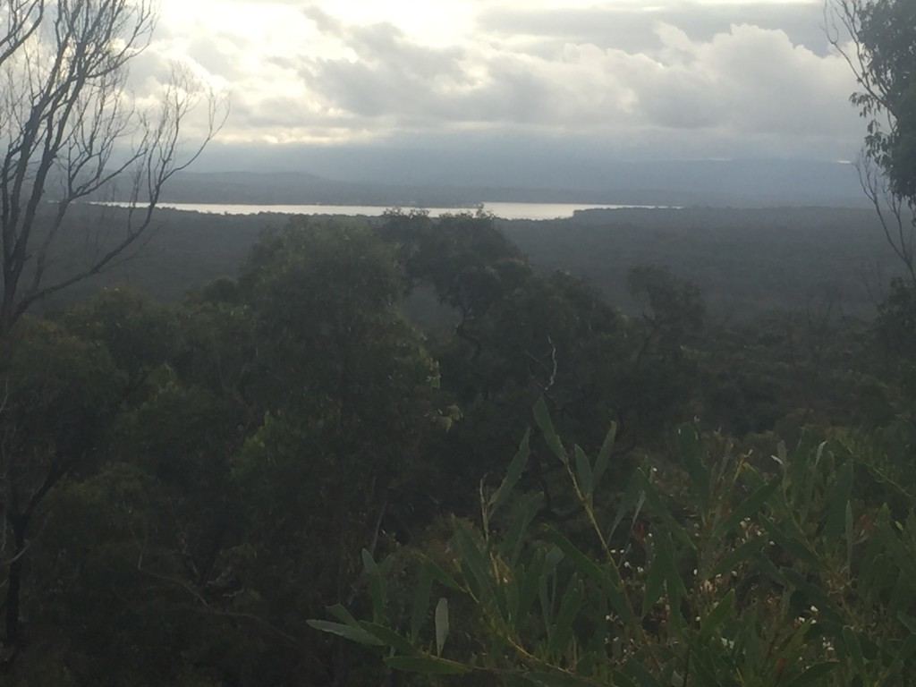 View of Lake Macquarie
