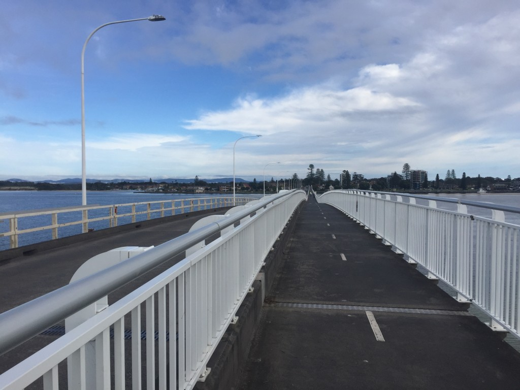 The bridge connecting Forster and Tuncurry