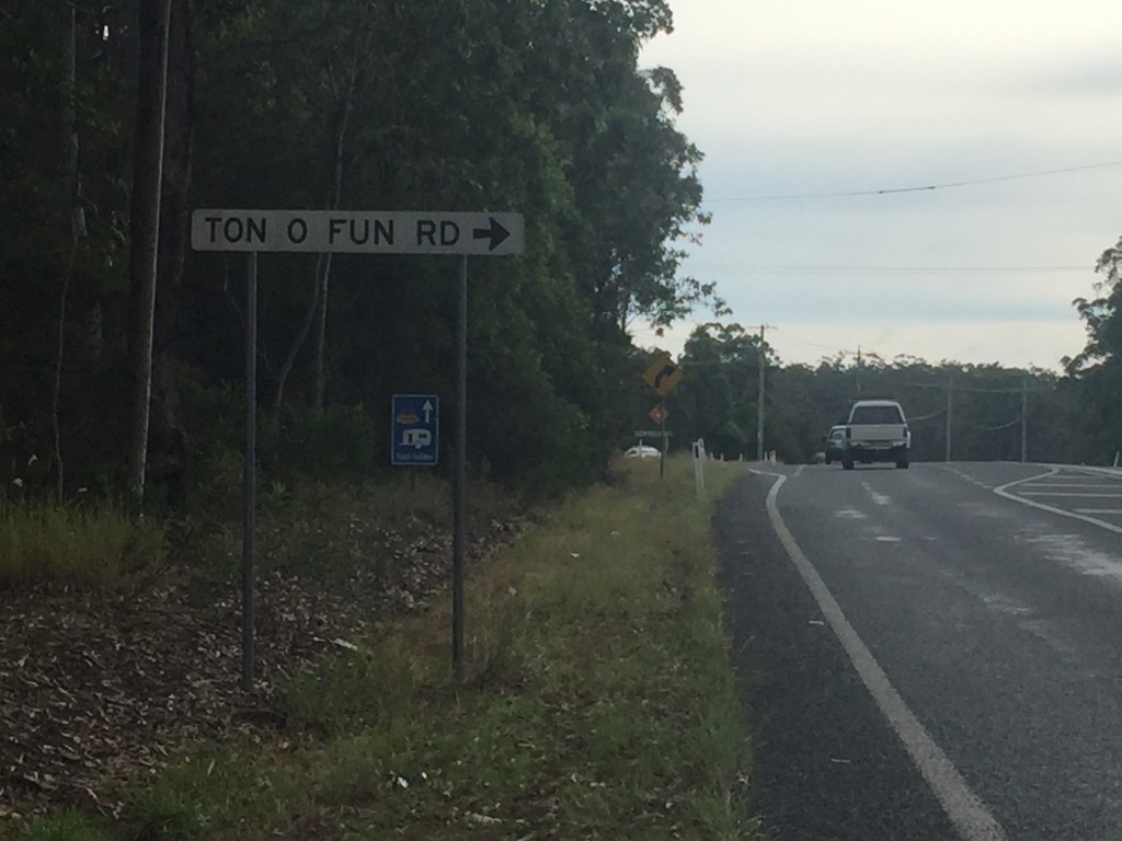 Some of the road names are funny