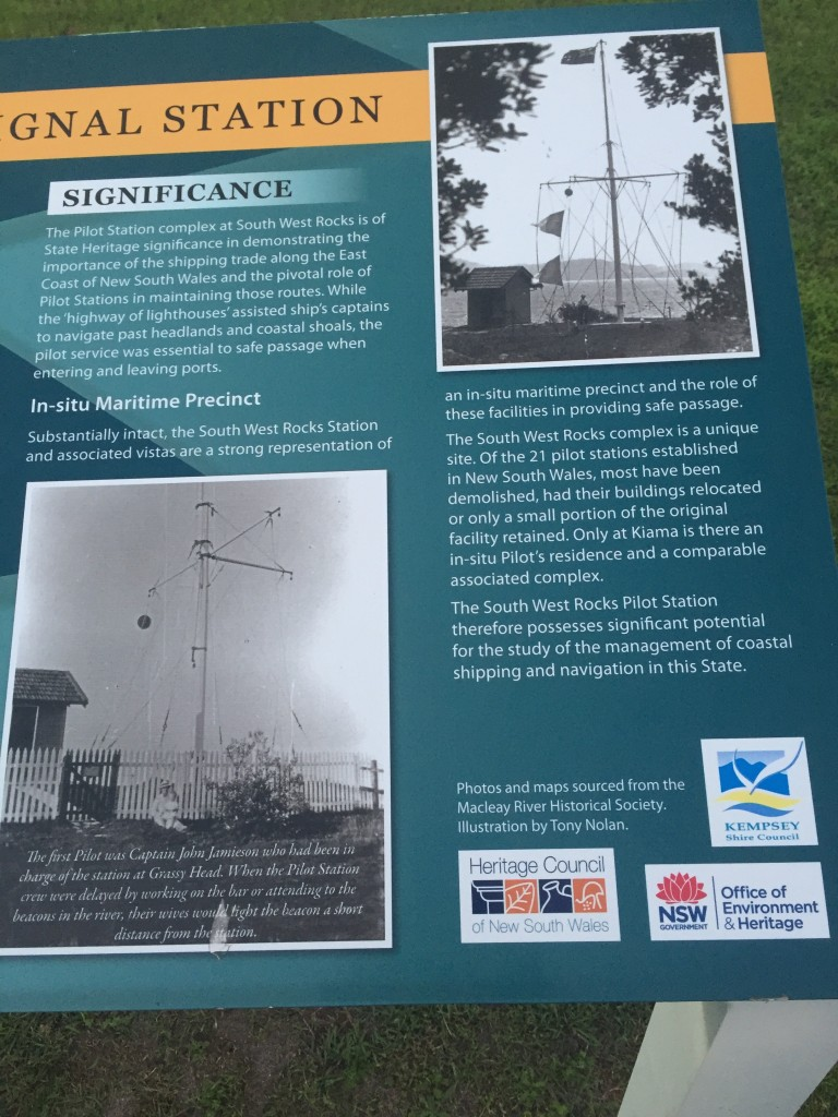Some info on how a signal outpost was used - this is one of just a couple that remain so intact