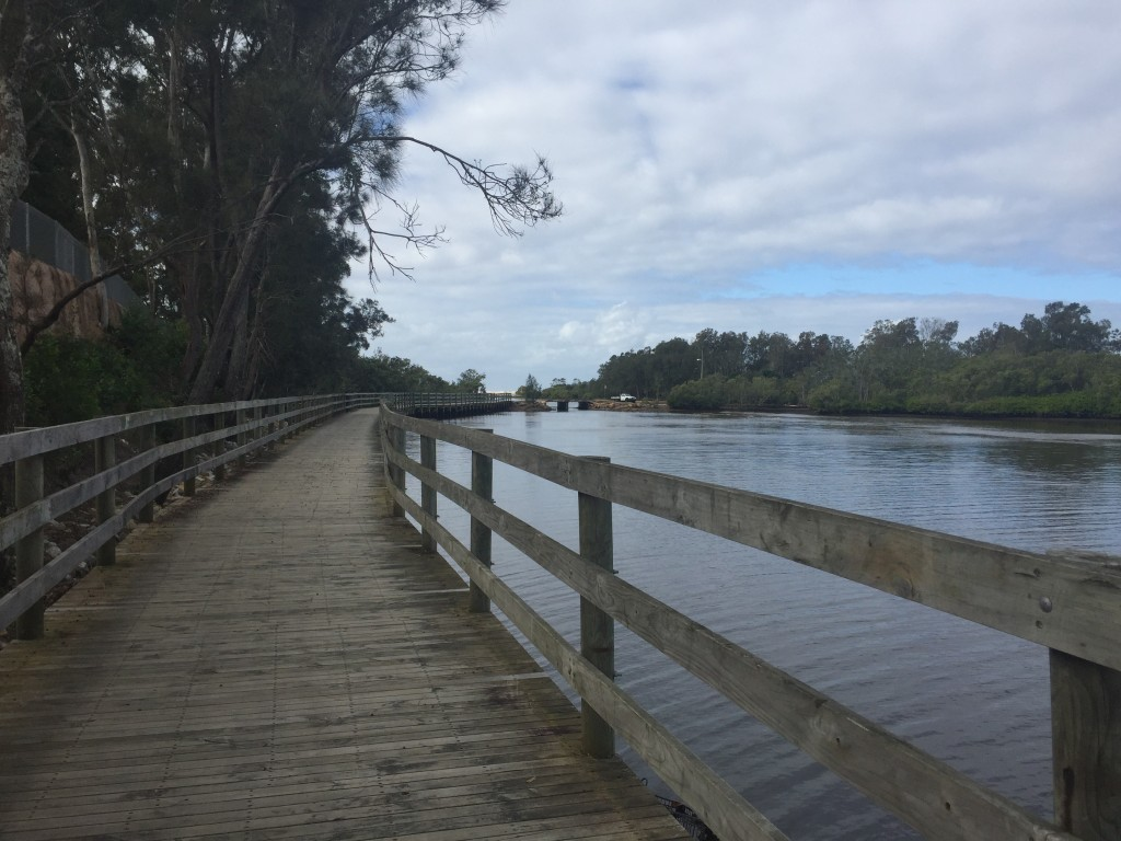 Boardwalk in Nambucca Heads