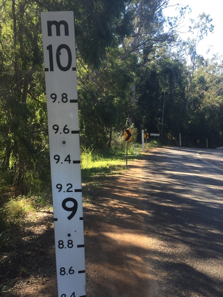 A 10 metre flood indicator?!?!?!    And I thought 2 metre's was high!