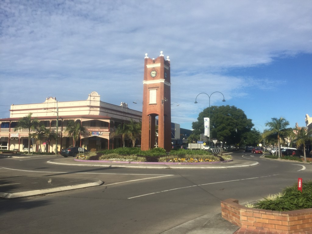 Roundabout in Grafton