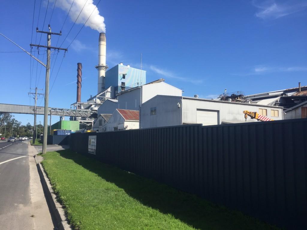 Sugar mill in Broadwater