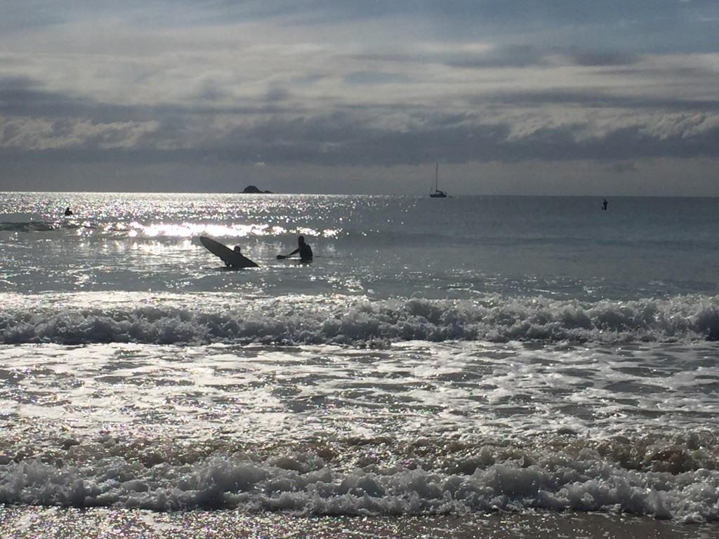 There are a lot of surf lessons in Byron Bay