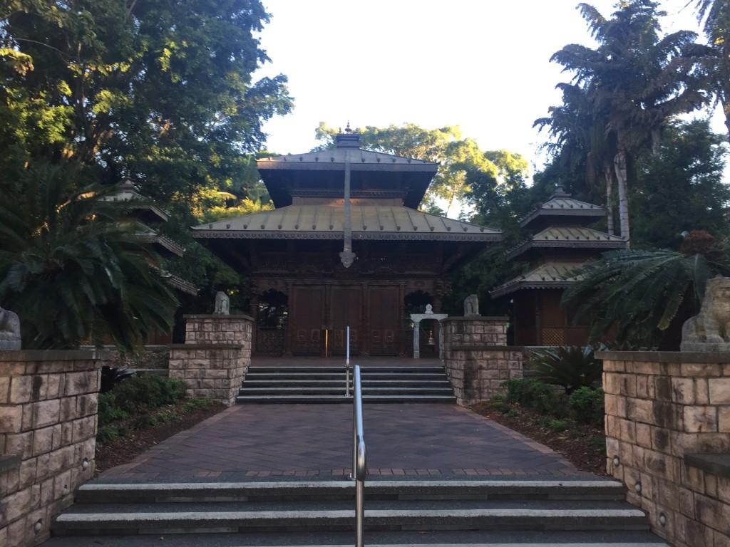 A peace pagoda