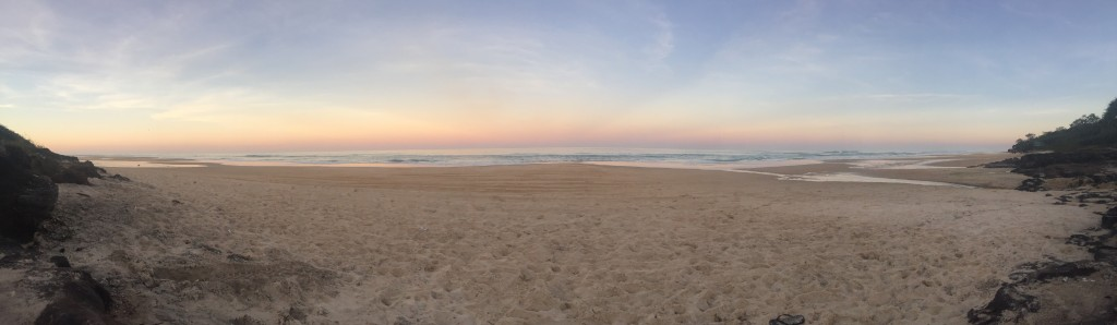 Sunset in Fraser Island