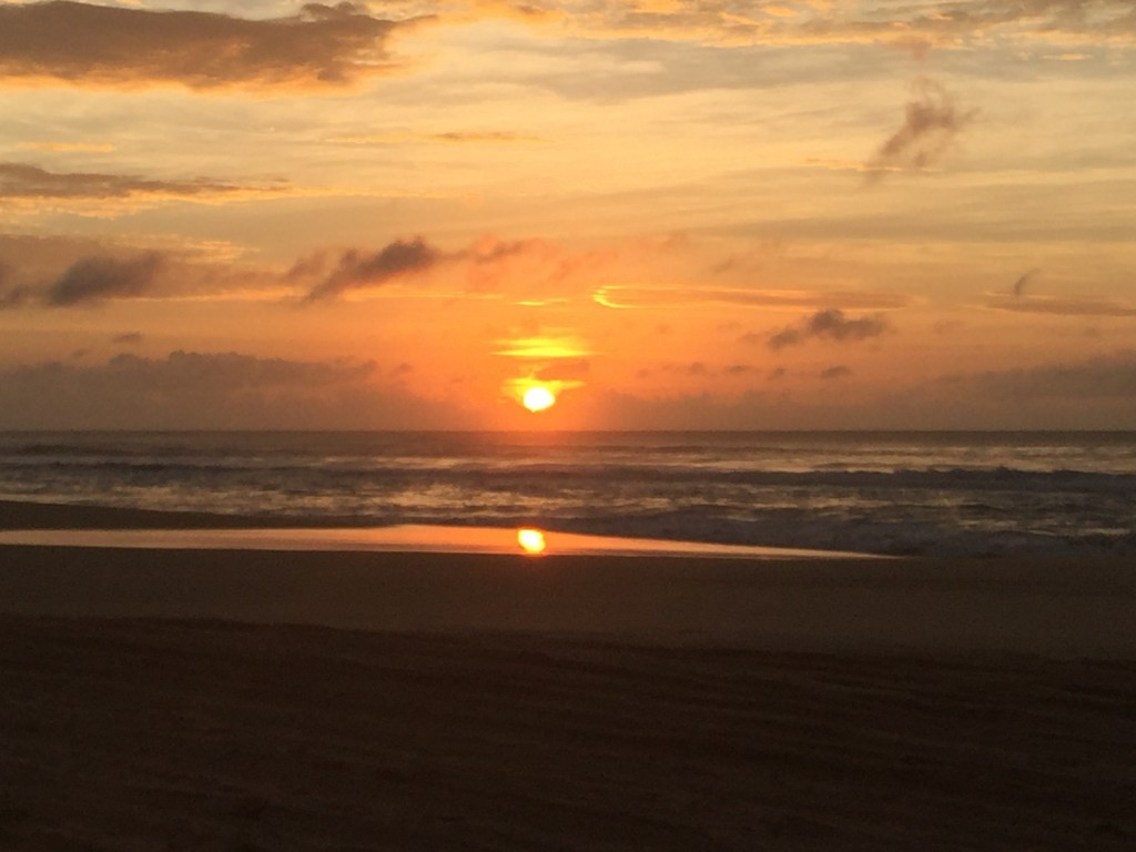 Sunrise on Fraser Island